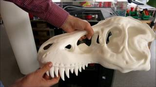 Download Raise3D N2 Plus Langzeittest T-REX in 129 Stunden mit PolyMax PLA Video