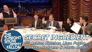Download Secret Ingredient with Ashton Kutcher, Liam Payne, Vanessa Hudgens and Mario Batali Video