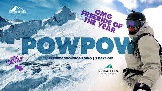 Download FREERIDE SNOWBOARDING POWPOW   2 DAYS OFF   ZELL AM SEE   KITZSTEINHORN   KAPRUN Video