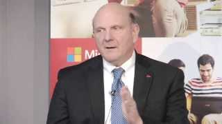 Download 2013 Interview with Steve Ballmer Video