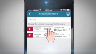 Download Renew vehicle registration via UAE-MOI App Video