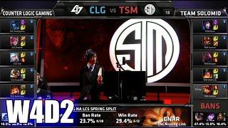 Download CLG vs TSM | S5 NA LCS Spring 2015 Week 4 Day 2 | Team Solomid TSM vs CLG W4D2G3 VOD 60FPS Video
