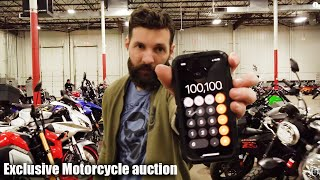 Download I SPENT $100K at the Bike AUCTION (Mistakes were made) Video