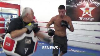 Download Amir Khan: After Watching Nate Diaz Sparr A World Champ HE GOT BOXING SKILLS Video