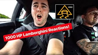 Download REACTIONS TO 1000 HP TURBO LAMBORGHINI WITH NO TRACTION CONTROL! *VEHICLE VIRGINS & THE STRADMAN* Video