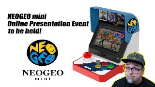 Download SNK Neo Geo Mini Online Presentation - They Want Us To Ask Questions! Video