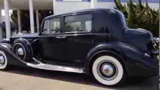 Download 1937 Packard V12 Model 1507 Club Sedan Sold Video