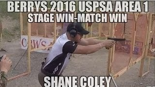 Download 2016 USPSA Area 1 Shane Coley Stage - Match Win Practical Pistol Shooting Competition Mark Brown Video
