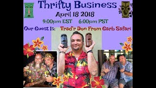 Download Thrifty Business Season 5 #19 Talking Tiki, Ebay & Instagram with Trad'r Don Vigeant Video