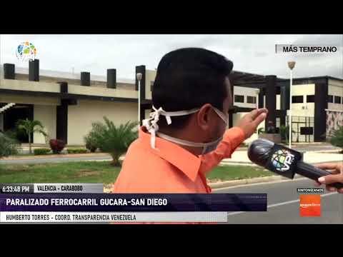 Carabobo - Ferrocarril de Guacara-San Diego se encuentra paralizado desde hace un año - VPItv