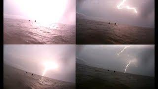 Download Brutal Tempestade de Raios durante Pescaria no Tejo Video