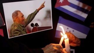 Download Official mourning starts in Cuba over Fidel Castro's death Video