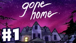 Download Gone Home - Gameplay Walkthrough Part 1 - Let's Play with Friends! (Indie Game, PC) Video