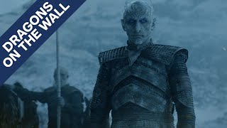 Download Game of Thrones Reveals the Key to the Night King's Defeat - Dragons on the Wall Video