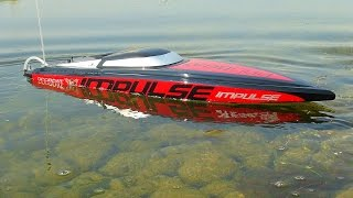Download RC ADVENTURES - iMPULSE 31 - 6S Power, Radio Control Deep V-Hull Motorboat Video