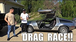 Download THE SLOWEST DRAG RACE ft SALOMONDRIN & VEHICLE VIRGINS!!! Video