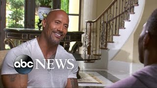 Download Dwayne 'The Rock' Johnson on Whether He Would Run for President Video