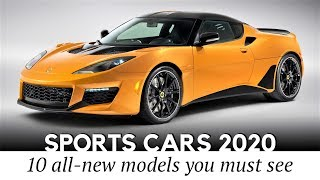 Download Top 10 New Sports Cars Worth Waiting for in 2020 (Prices and Speeds) Video