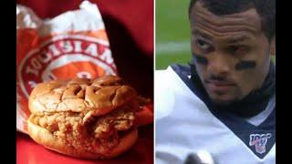 Download Deshaun Watson's Popeyes Chicken Sandwich Plug Video