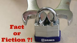 Download The TRUTH about HOW TO OPEN a LOCK with a NUT wrench! Video