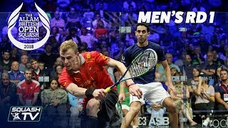 Download Squash: Allam British Open 2018 - Men's Rd1 Round-up Video