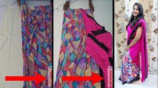 Download झटपट गोल साडी डायरेक्ट परकरला / Easy Readymade Sari Cutting-Stitching. Video