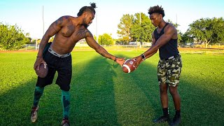 Download I GOT PRIVATE LESSONS FROM ONE OF THE GREATEST NFL PLAYERS EVER.. (HE TAUGHT ME SECRETS) Video
