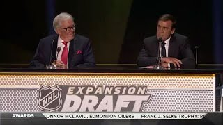 Download Golden Knights make first selections, trade with Sabres Video