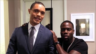 Download Behind the scenes: Kevin Hart guests on Daily Show with Trevor Noah Video