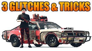 Download GTA 5 Online - 3 NEW GLITCHES & TRICKS! (Store ANY Vehicle, Drive inside MOC, & No Cops Glitch) Video