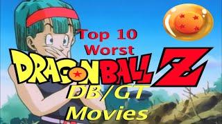 Download Top 10 WORST DRAGON BALL Z /DB/DBGT Movies Video