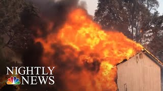 Download Mendocino Complex Fire Largest In California History | NBC Nightly News Video