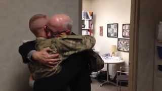 Download Dad breaks down when son returns home early from Afghanistan Video