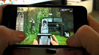 Download Modern Combat 2 iPhone 4 Game (Full HD) Video