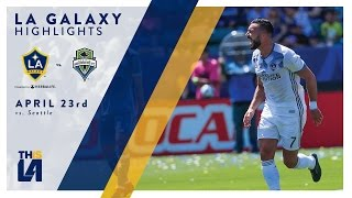 Download HIGHLIGHTS: LA Galaxy vs. Seattle Sounders | April 23, 2017 Video