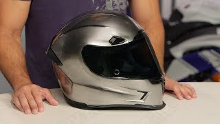 Download ICON Airframe Pro QuickSilver Helmet Review at RevZilla Video