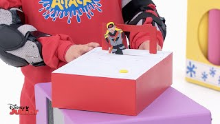 Download Art Attack - Sports - Ice Hockey Game - Disney Junior UK HD Video