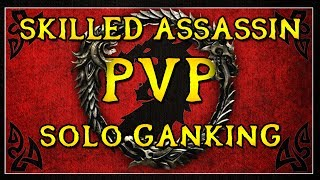 Download SKILLED ASSASSIN - ESO PvP Solo ″Ganking″ Highlights (1080p) Video
