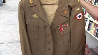 Download Stranger Returns WWII Jacket Found In Her Closet To Widow Of Army Veteran Video