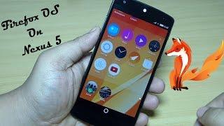 Download Firefox OS on Nexus 5 Video