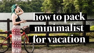 Download PACKING FOR VACATION | HOW TO PACK IN CARRY ON ONLY | MINIMLIST BACKPACKING IN SINGAPORE Video