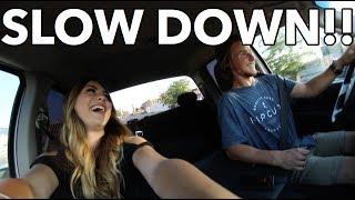 Download (GIRLFRIEND REACTS) LAUNCH IN TWIN TURBO CUMMINS! Video