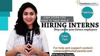 Download The Best Ways to Find Interns : Interns Recruitment,Find Interns for Free II HR Recruiting Tips Video