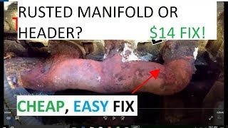Download Exhaust Manifold Repair THE #1 FIX! CHEAP EASY no tools required Video