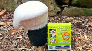 Download Fence Post Installation with Foam! Video