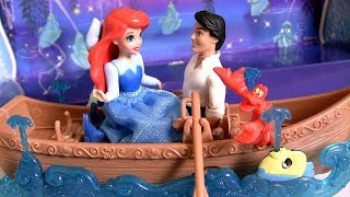 Download Play Doh Ariel & Prince Eric Boat Ride Kiss the Girl Song Scene From Disney The Little Mermaid Video