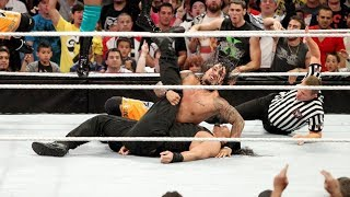 Download Roman pinned for the first time in WWE! 11-on-3 Handicap Match: Raw, Sept. 23, 2013 Video