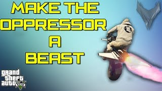 Download HOW TO MAKE THE OPPRESSOR A BEAST ! (GTA5) Video