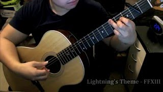 Download The Promise + Lightning's Theme - Final Fantasy XIII - (Guitar) Video