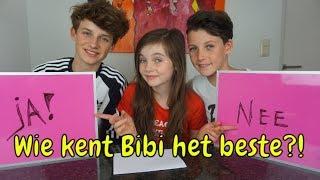 Download WIE KENT BIBI HET BESTE? HUGO of TOBIAS - Bibi Video